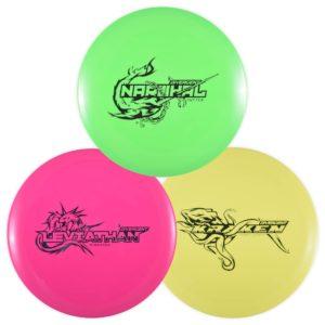 Divergent Discs Disc Golf Starter Set