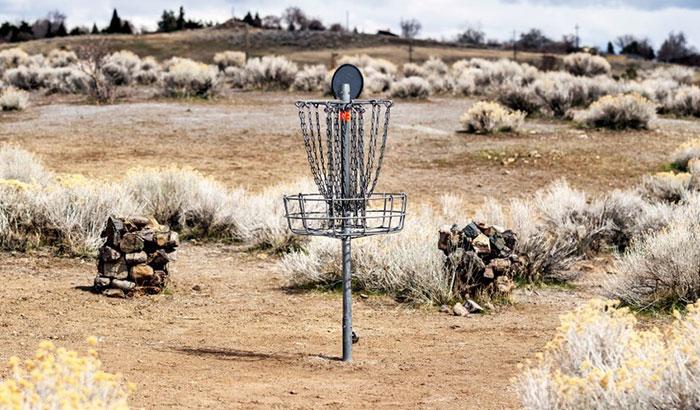 best disc golf basket