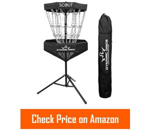 dynamic discs scout portable disc golf baskets