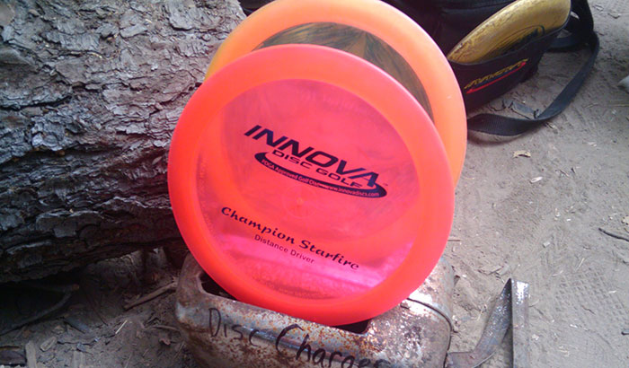 how to read disc golf numbers