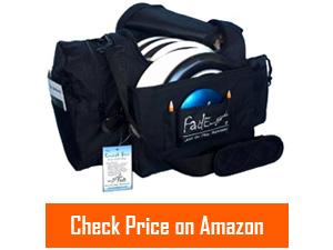 fade crunch box disc golf bag