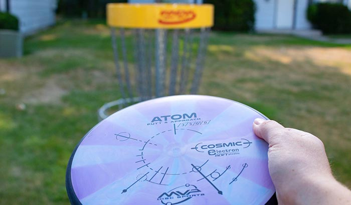 how to score disc golf